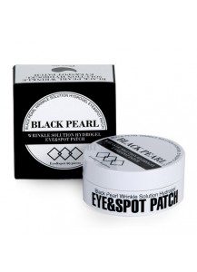 [ESTHETIC HOUSE] BLACK PEARL WRINKLE SOLUTION HYDROGEL EYE & SPOT PATCH