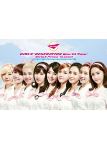 [ADVANCE ORDER] [DVD] SNSD (Girls' Generation) - World Tour / Girls & Peace In SEOUL (2 disc+photobook+initial limited poster