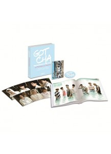 GOT7 - 1st PHOTOBOOK in Malaysia / GOTCHA (200p Photo Book + DVD + Photo Post Card)