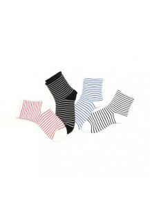 Striped Rolled Socks