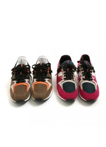 Colorblocked Wool Sneakers