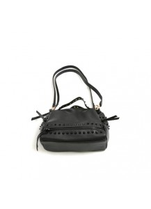 Metal Studded Shoulder Bag