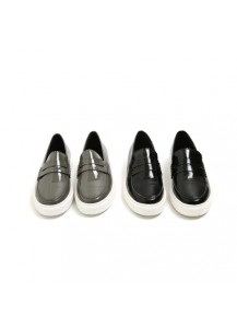 Coated Simple Loafers