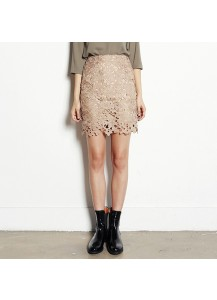 H-Line Lace Skirt