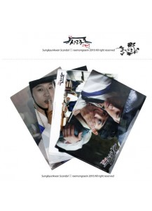 [JYJ] Sungkyunkwan Scandal - Clear File Set (4pcs)