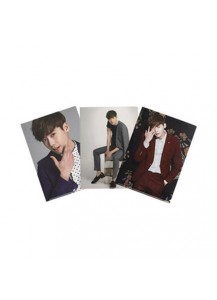 Lee Jong-suk Official L Holder Triple Set