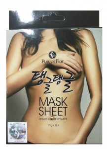 [Pure as Fior] Breast Volume Up Mask Sheet (100% original)