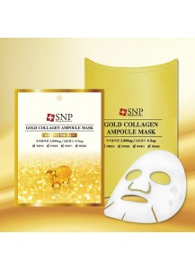 [SNP] Gold Collagen Ampoule Mask (10Sheets)