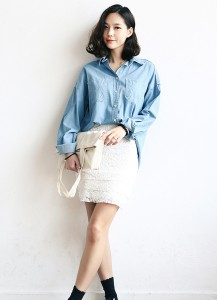 Pocket Denim Shirt
