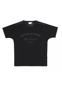 [thepartment] VOYAGE T-SHIRTS BLACK