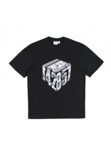 [thepartment] CUBE 5CUT T-SHIRTS BLACK