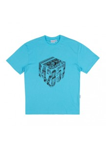 [thepartment] CUBE 5CUT T-SHIRTS SYKBLUE