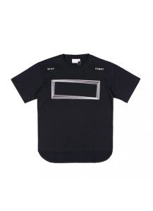 [thepartment] FRAME T-SHIRTS BLACK