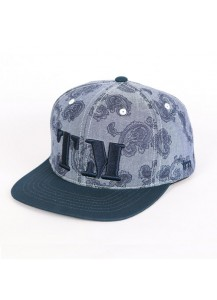 [thepartment] TM PAISLEY CAP NAVY