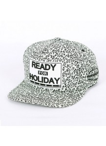 [thepartment] LEOPARD GREY 5PANEL CAP
