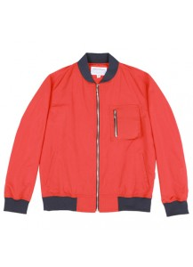 [thepartment] CARGO BLOUYSON JACKET RED