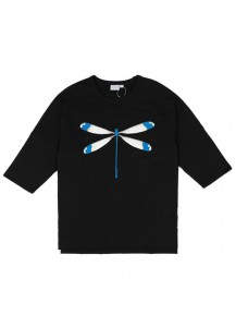 [thepartment] TOMBOW 7CUT T-SHIRTS BLACK