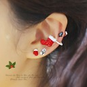 [3piece 1set] White Christmas earcuff