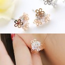 Baby flower earrings