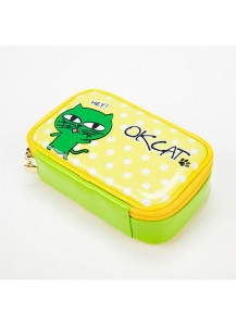 [2PM] OKCAT POUCH - OK TAC YUN CAT CHARACTER [Official MD Goods]/OKCATポーチ