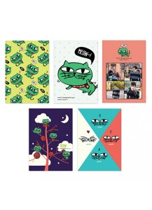 [2PM] OKCAT NOTE SET - OK TAC YUN CAT CHARACTER [Official MD Goods]/OKCAT ノートセット