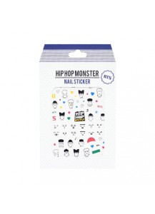 HIP HOP MONSTER - NAIL STICKER