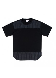 [thepartment] HEXAGONE T-SHIRTS BLACK